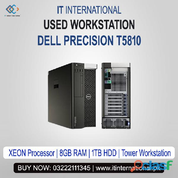 "Contact for best used workstation ""dell precision t5810"" with lowest price in pakistan."