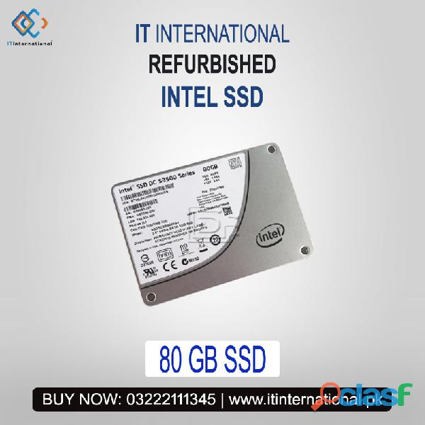 Refurb Intel Solid State Drives (SSD) are available in Best Condition with Lowest Price for sale.