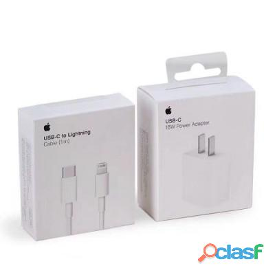 Iphone 18w type c charger with type c to lightning cable   fast charging supported   high quality