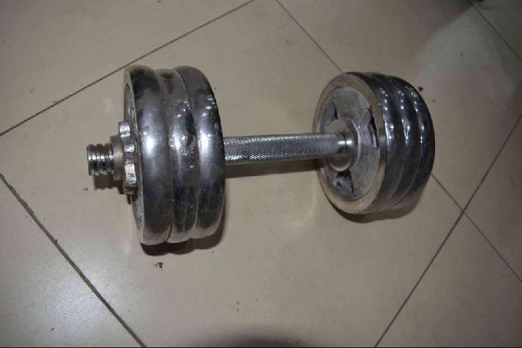 Adjustable dummbble chrome dumble gym weight plates dummble