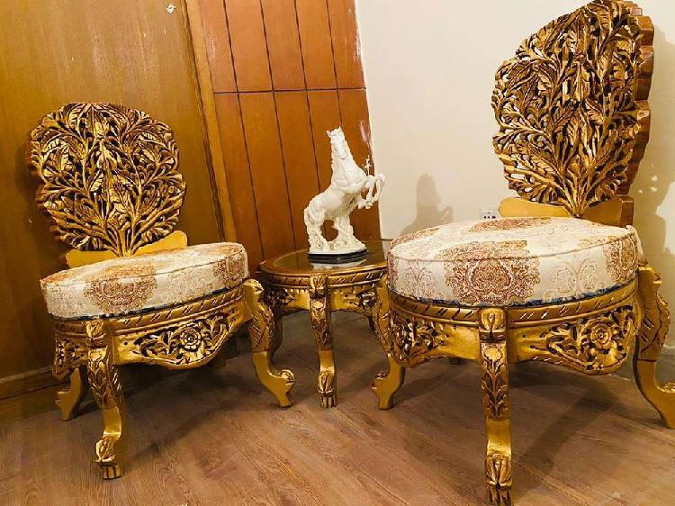 Chinyoti shisham chairs, diwan dewan table,bed sofa
