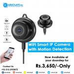 Get wifi smart ip camera with motion detection at your door