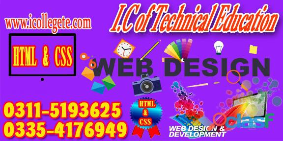 Web designing course in shams abad, sialkot