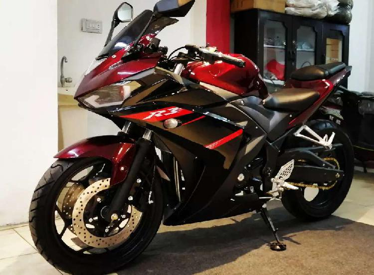 Bmw s1000rr 250cc dual cylinder with full heavy sound at ow