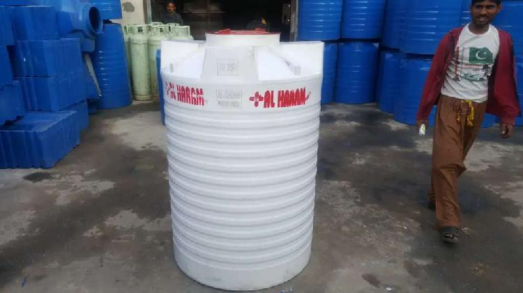 Roto made plastic water tank 100%pure for sure