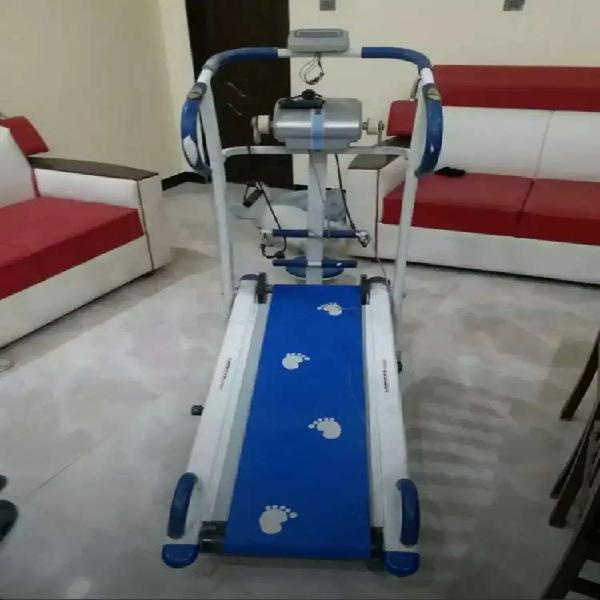 Treadmill (manual) with massager..