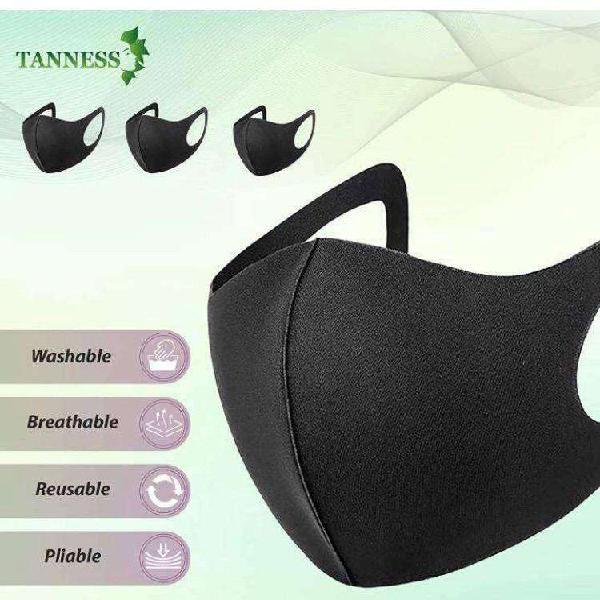 Unisex plain reuseable face mask cover