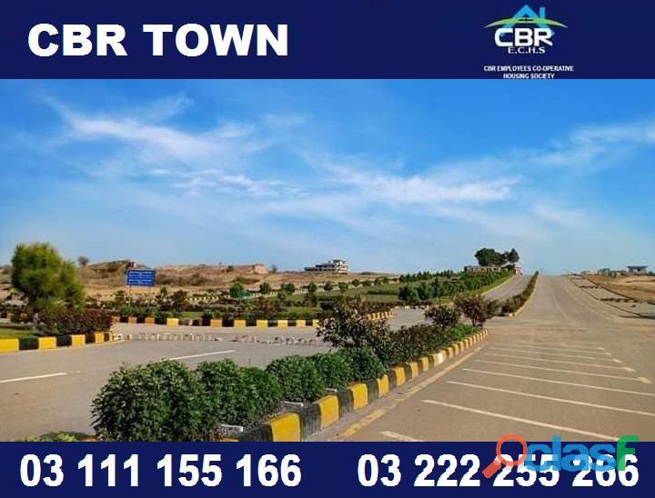 Cbr town & cbr residencia 5 marla plot for sale near new airport