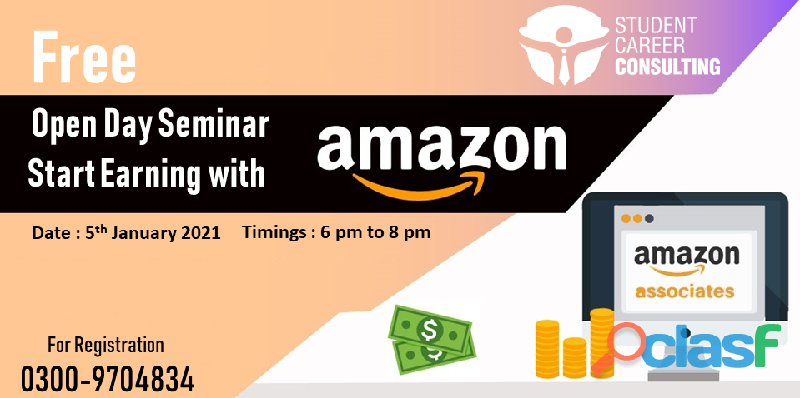 Free Open Day Workshop on Start Business with Amazon FBA in Pakistan