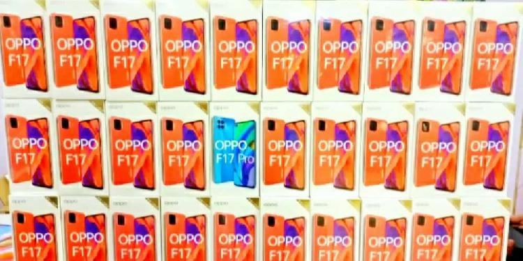 Oppo f17 (8gb/128gb) leather back oled display 30w charge