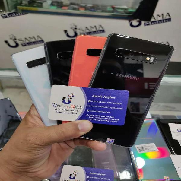 Samsung galaxy S10+ new cell all color Usama mbls township