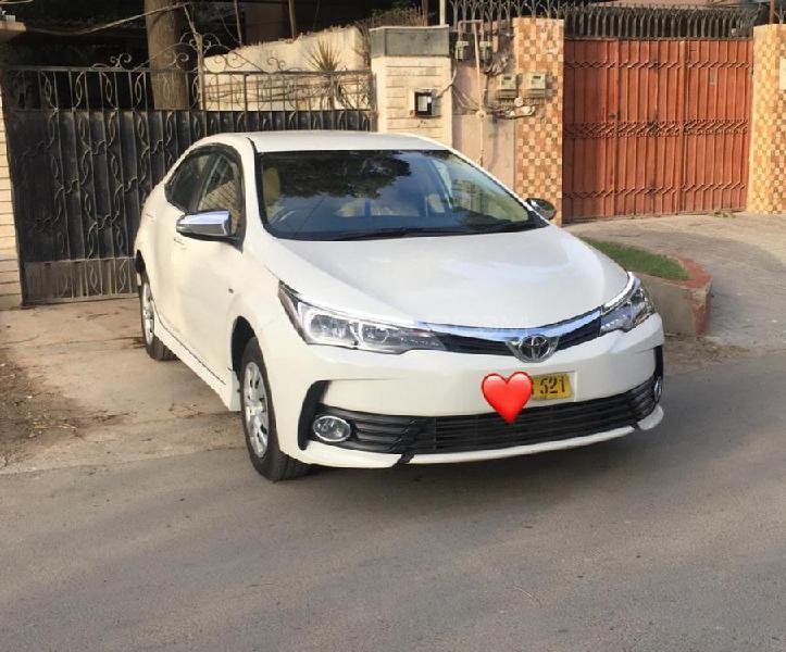 Toyota corolla xli automatic 2018