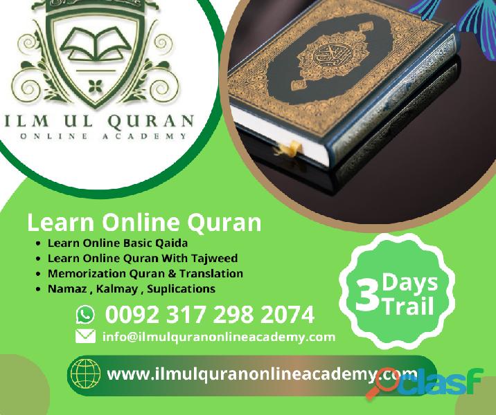 Online quran tutor/teacher +92 – 317 – 2982074 – online quran academy