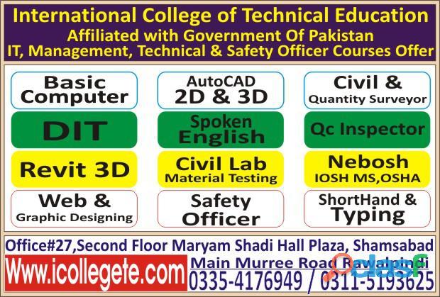 Civil lab technician course in rawalpindi murree road shamsabad 03354176949 1