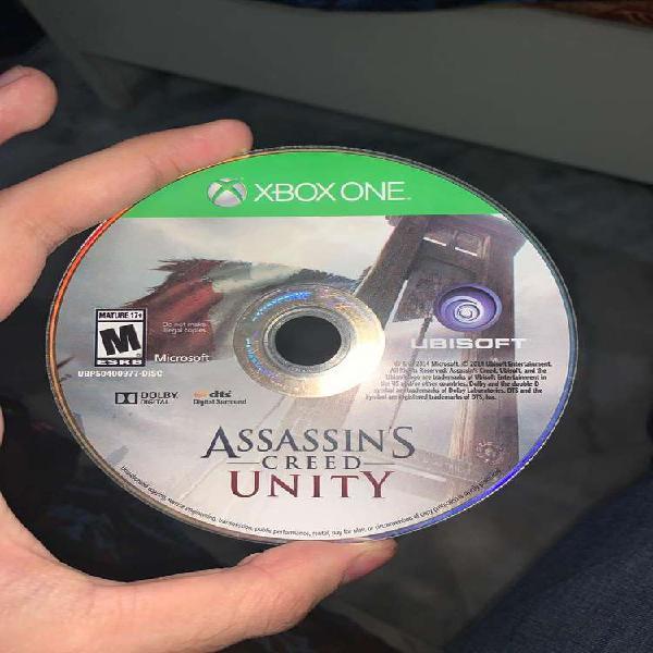 Assassins Creed Unity Xbox one Orignal CD