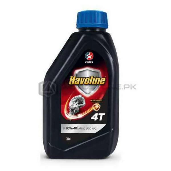 Bumper Discount Rs.70 CALTEX Havoline Motorcycle Oil 20w-40