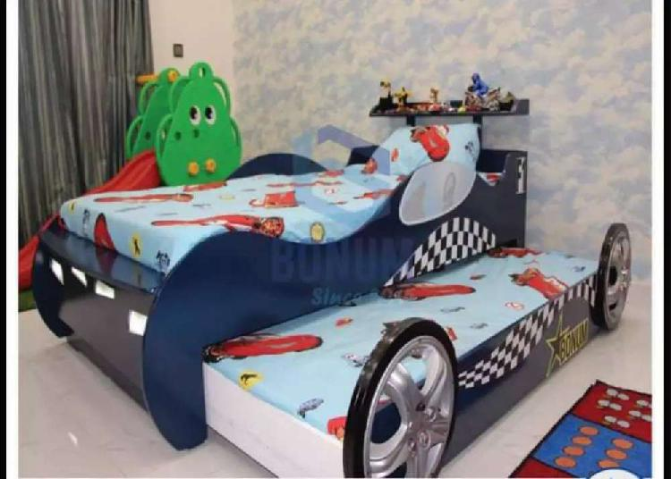 Character and cartoon bed for Kids