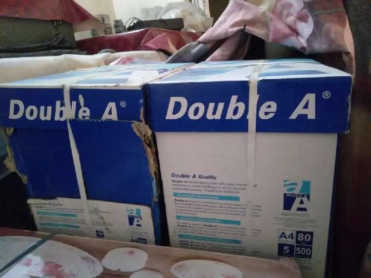 Double A premium photo copy paper.