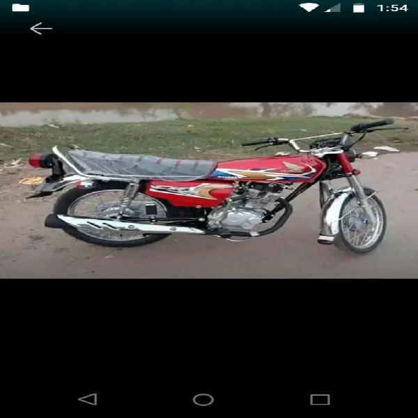 Honda 125 2020 karachi number urgent sale