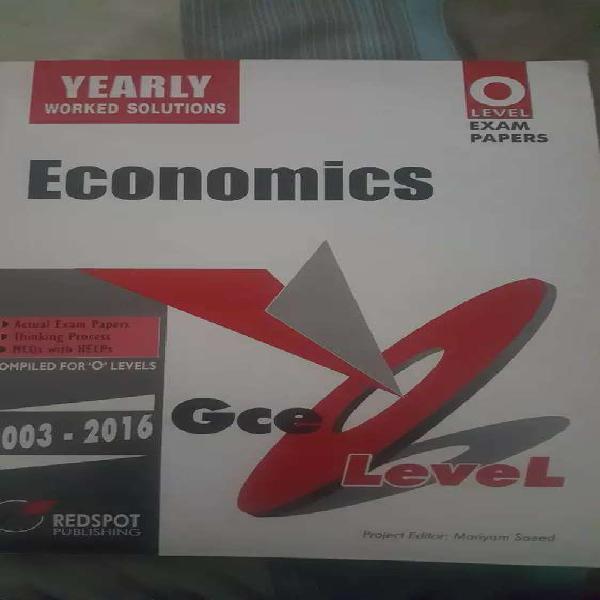 Olevel Economics past papers.