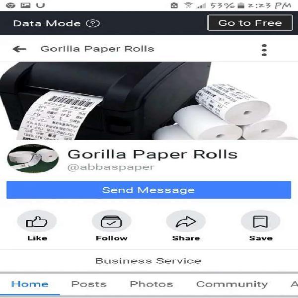 Printer roll (techno)