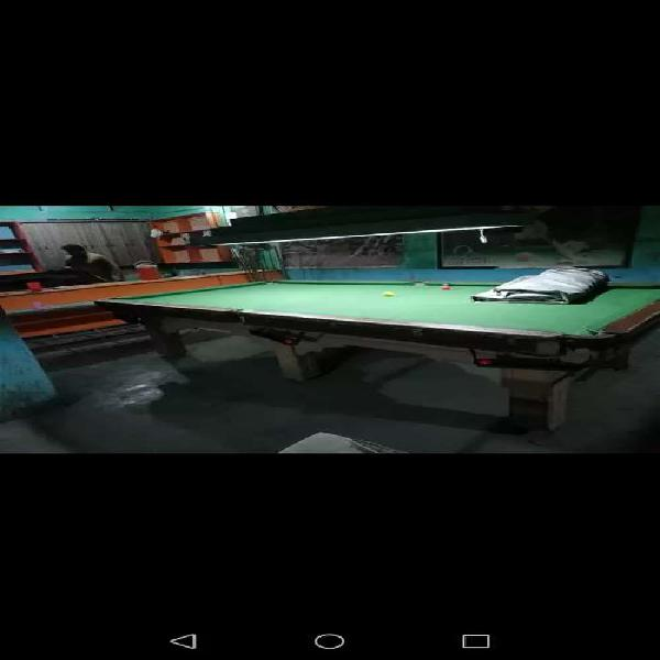 Snooker, Bellied Table