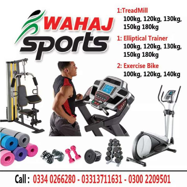 Treadmill & exercise fitness machine available