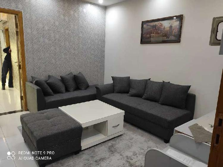 Brand new fully furnished family apartment in bahria town