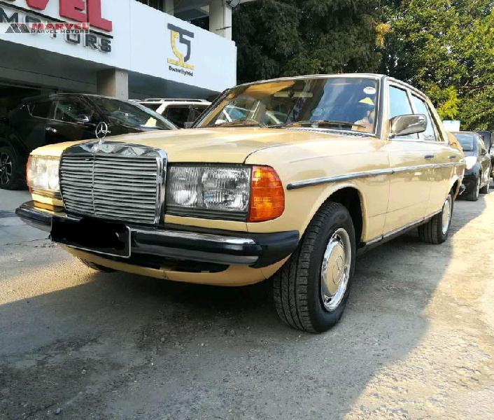 Mercedes benz d series 1984