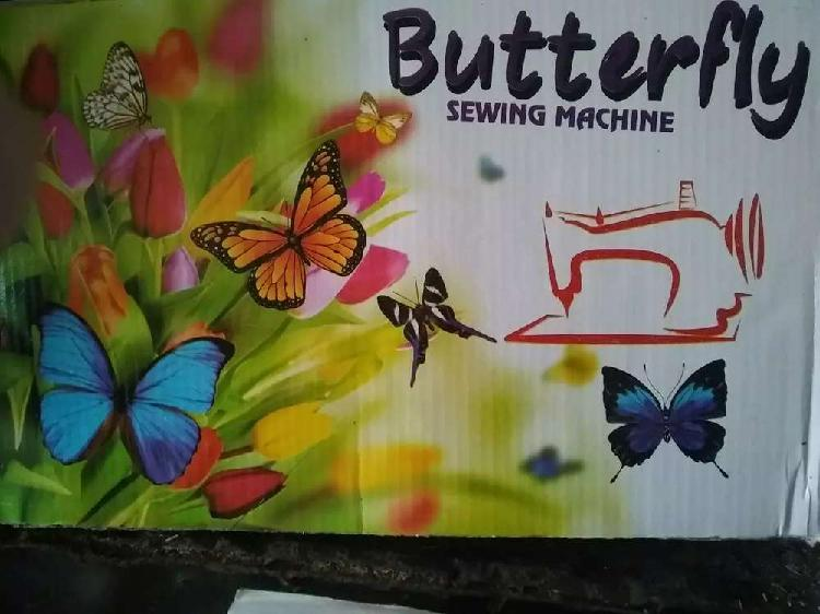 100 percent new butterfly sewing machine order per dustiab