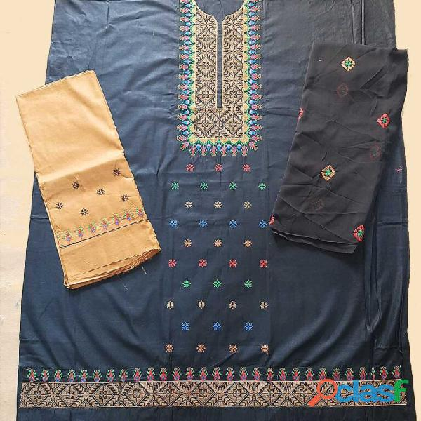 unstitched suits in Pakistan