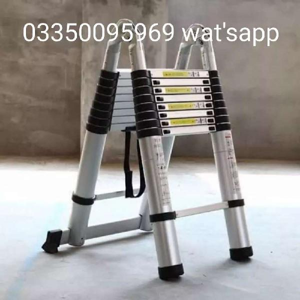 Flexible aluminium ladders 10 feet double cash on delivery