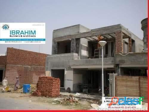 House construction & architect service for overseas community