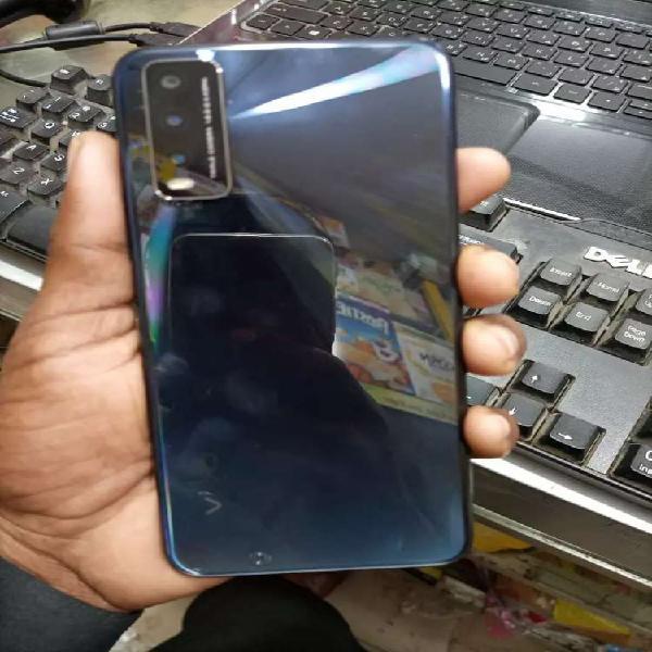 Vivo y20 blue clure just box open