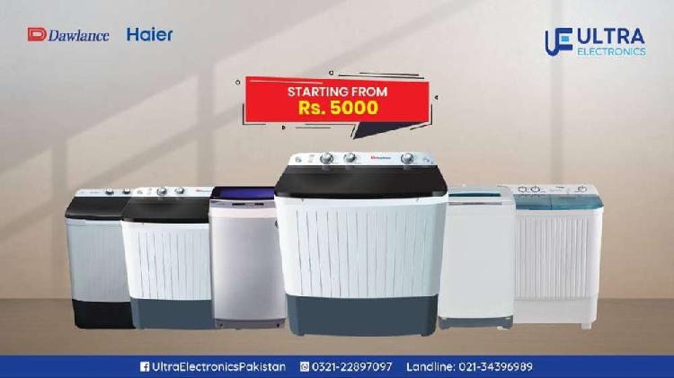 Washing Machine on Installments