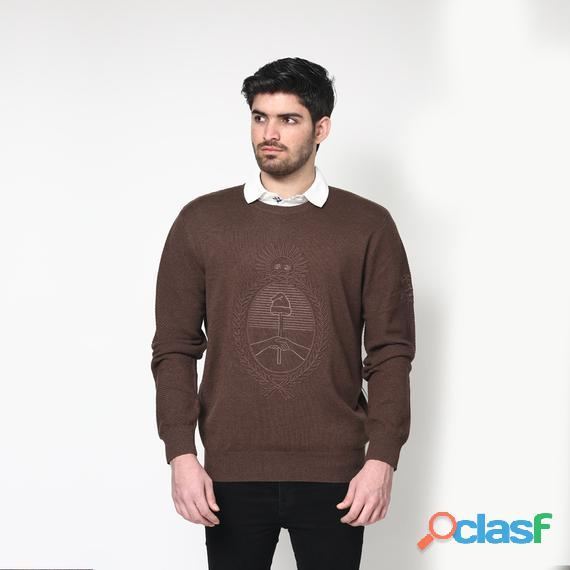 La Martina Man Tricot Brown Fashion & Design