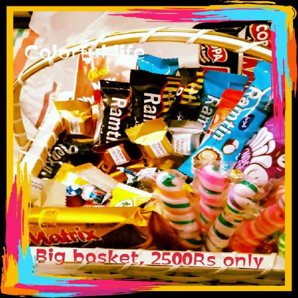 Imported chocolate gift basket & cup