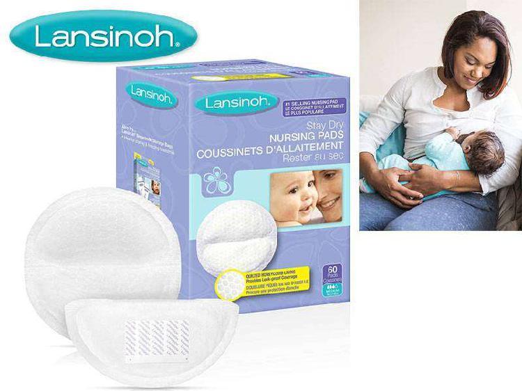 Lansinoh disposable women chest pads like avent medela