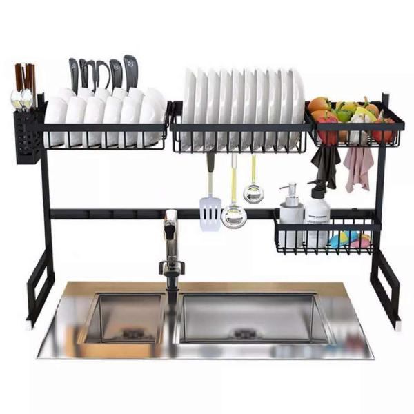 Kitchen portable dish rack