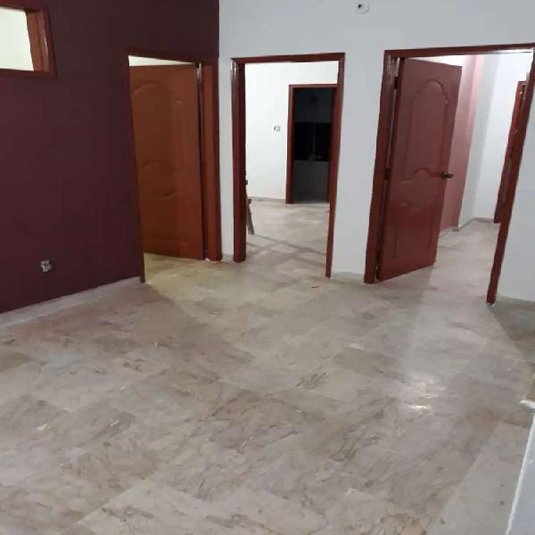 Rent flat availble for north nazimabad block k