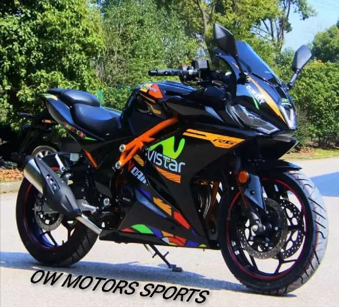 Sports racing zero meter #h6 250cc, yamaha r3, kawasaki