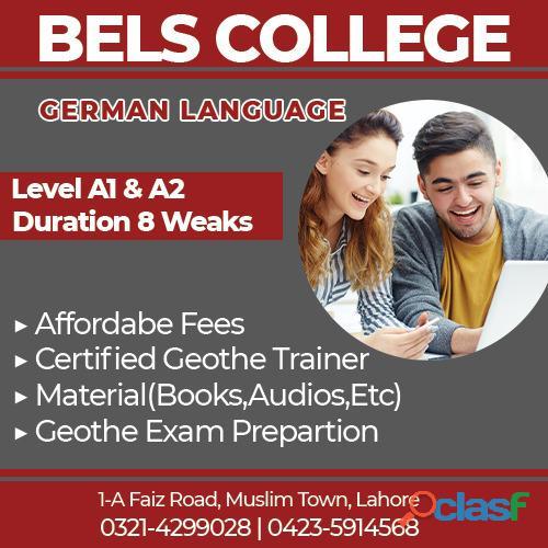 German language classes bels college