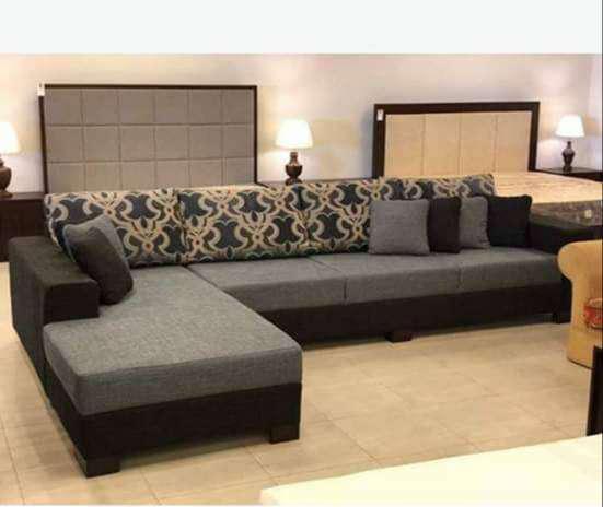 Decent design & cozy feel l shape sofa corner shape corner