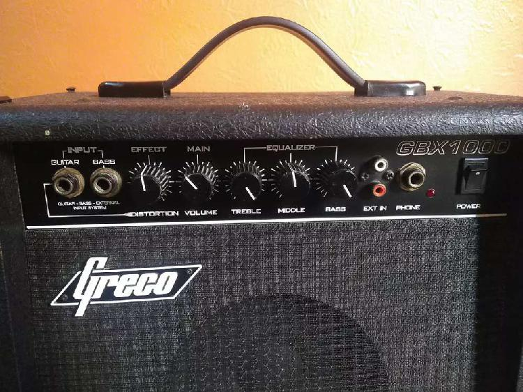 Greco Amp GBX1000 Guitar/Bass Japanese Amplifier