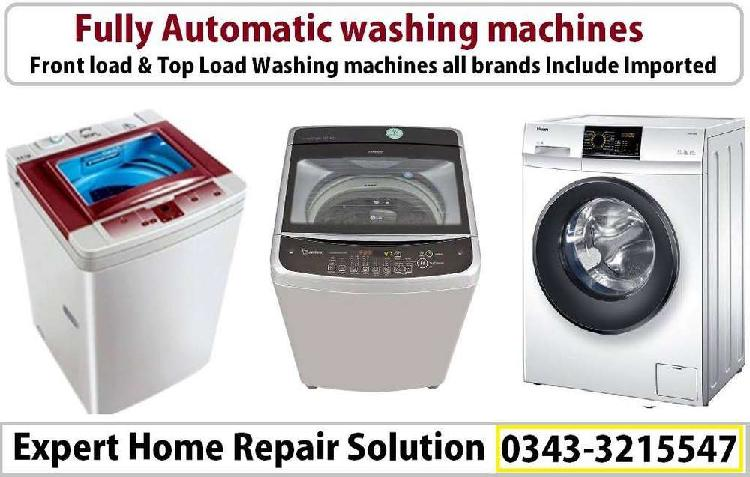 Top & front load all fully automatic washing machine experts