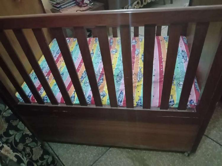 Brown baby cart