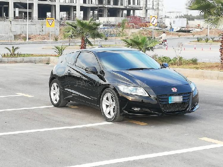 Honda cr-z sports hybrid alpha master label 2012