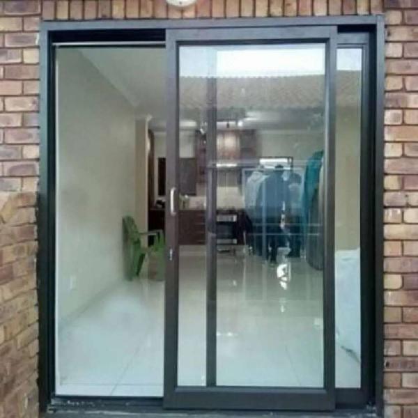 Aluminium windows and fibor door's