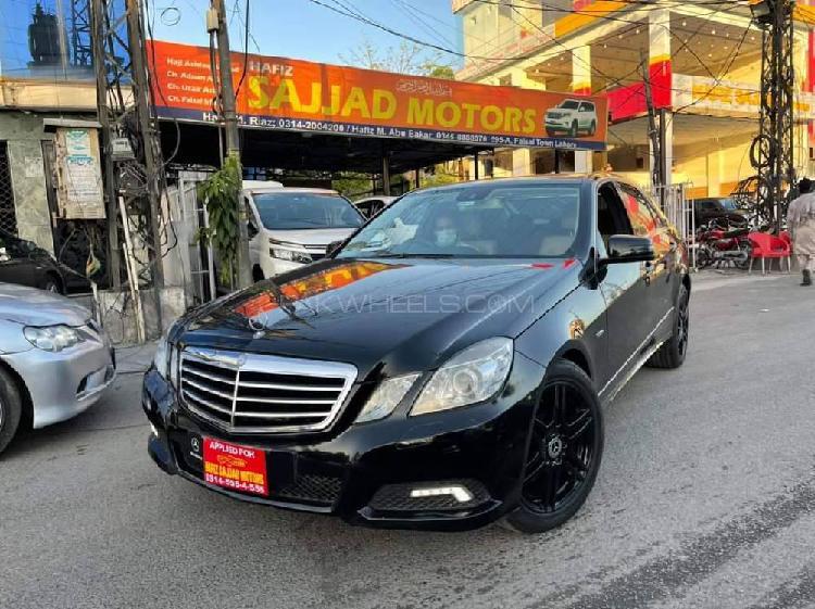 Mercedes benz e class e250 avantgarde 2010