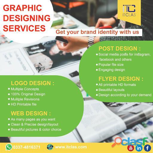 Graphic Designing Services.